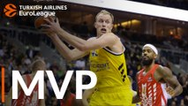Turkish Airlines EuroLeague Regular Season Round 9 co-MVPs: Luke Sikma & Nick Calathes