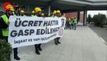 Gentes işçilerinin eylemi ikinci gününde: Hakkımızı olanı istiyoruz