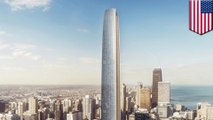 Chicago's new tower may become the second tallest in the city