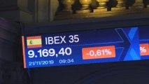 El Ibex 35 retrocede un 0,6 % en la apertura, en sintonía con Europa, y pierde los 9.200 puntos