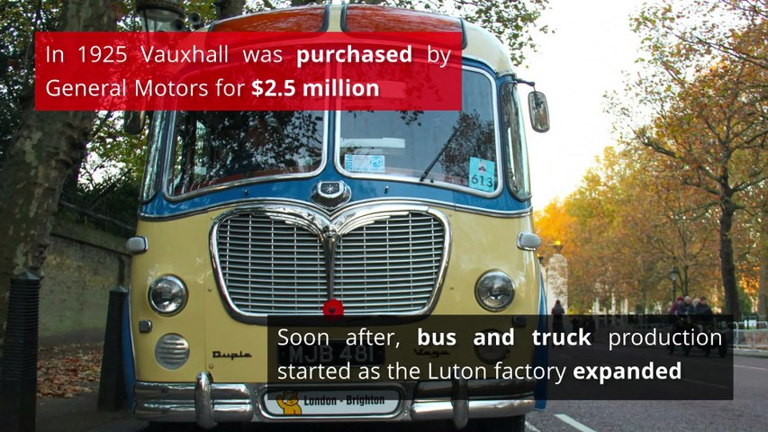 Luton - The history of Luton and Vauxhall (1905-1960)