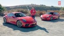 VÍDEO: Porsche 911 GT3, comparamos el primero y el último, ¡un sueño hecho realidad!