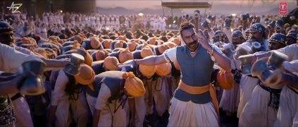 Tanhaji The Unsung Warrior Official Trailer Ajay D Saif Ali