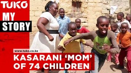Kasarani 'mom' of 74 children | Tuko TV