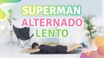 Superman alternado lento - Melhor com Saúde