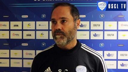 J14 Laval-USCL : l'interview d'avant-match de Carlos Secretário