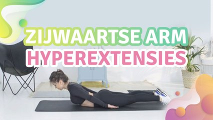 zijwaartse arm hyperextensies -  Gezonder leven