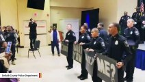 Watch: Officer Proposes At His Police Graduation Ceremony (She Said Yes)