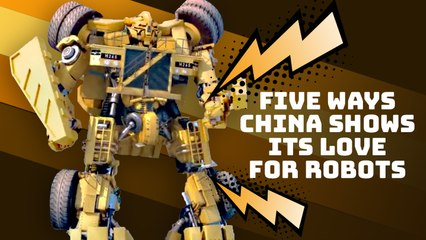 Five ways China shows its love for robots