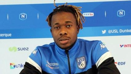 Veille de match - David Kabamba