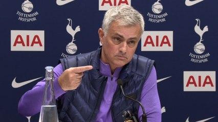 I wear Spurs Pyjamas | Jose Mourinho FIRST Spurs Press Conference PART 2