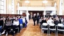Metz : Élie Buzyn rescapé de la Shoah prend les lycéens à témoin