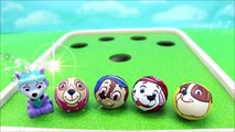 Paw Patrol Toys Snooker And Learn Colors With Paw Patrol Balls Surprises Toys For Kids-
