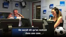 David Ginola au cœur de la Tribune Auteuil