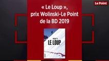 """""""Le Loup"""", prix Wolinski-Le Point de la BD 2019"""
