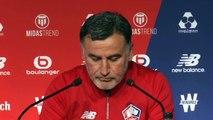 Football - Christophe Galtier évoque le départ de ses deux adjoints, qui rejoignent José Mourinho à Tottenham