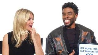 Chadwick Boseman and Sienna Miller Teach You South Carolina and British Slang
