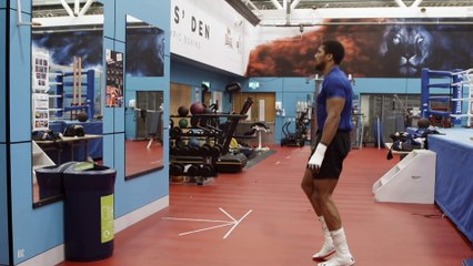 Anthony Joshua in Camp #1 GENERAL WARM UP