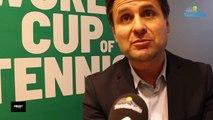 """Coupe Davis 2019 - Fabrice Santoro : """"Le Saladier n'a plus de place au coin du court... !"""""""