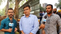 ABVP, DUSU demand HRD Minister's resignation