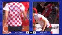 Demi-finales, Croatie contre Turquie, tir rapide en double, Bruguières 2019
