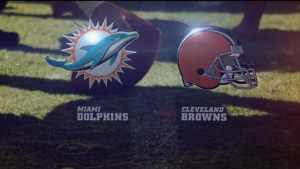 Week 1: Dolphins vs. Browns highlights