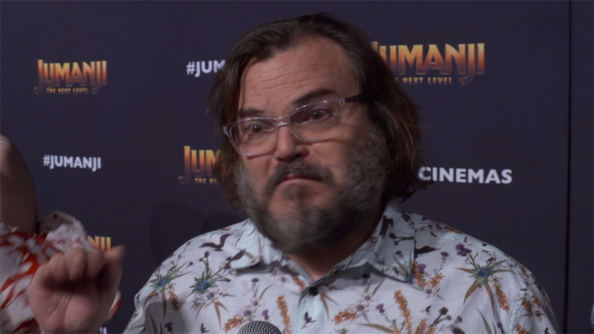 'Jumanji: The Next Level' Premiere: Jack Black
