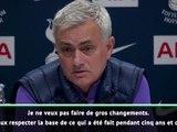 Tottenham - Mourinho : ''Je ne vais pas dire que tout ce qu'a fait Pochettino est mauvais''