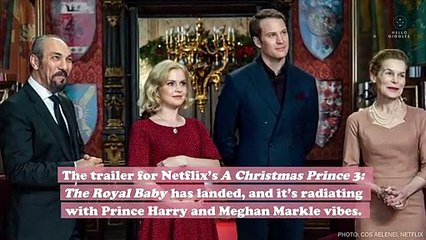 The new A Christmas Prince sequel trailer is giving us major Meghan and Harry vibes