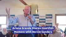 Bernie Sanders And Ariana Grande Become Friends