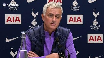 Jose Mourinho mocks reporter at first Spurs press conference