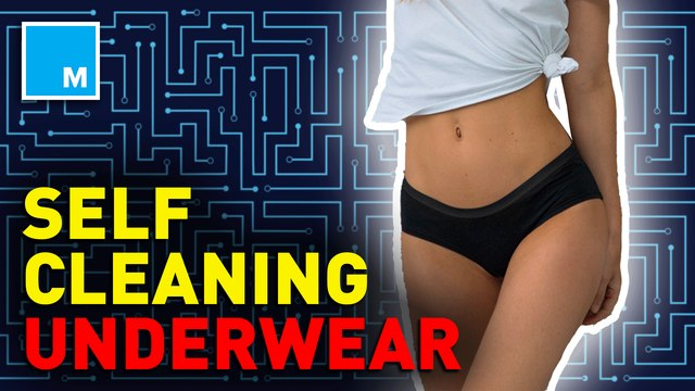 This smart underwear supposedly cleans itself —Future Blink
