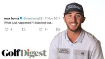 Max Homa's Life Through Tweets