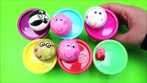 Peppa Pig Play Doh Surprise Toys Cups Preschool Learning And Teach Kids Colors-