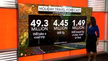 Thanksgiving travel Stormy weather could throw a wrench in travel plans