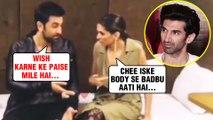 DRUNK Exes Deepika Padukone Ranbir Kapoor USE Bad Words For Aditya Roy Kapur's Birthday