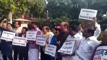 Congress protests in Parliament over electoral bonds