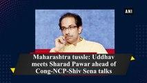 Maharashtra tussle: Uddhav meets Sharad Pawar ahead of Cong-NCP-Shiv Sena talks