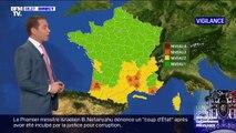 Les départements de la Lozère, de l'Ardèche, du Gard et du Var placés en vigilance orange pluie inondation