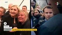 """Emmanuel Macron revient à l'usine Whirlpool après sa fermeture: """"Ca va être rock'n'roll, il a remis 150 personnes au chômage !"""""""
