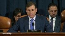 Ukraine Diplomat Says Trump Asked Sondland About Biden Investigation