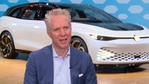 Volkswagen ID. SPACE Vizzion Concept - Interview Scott Keogh, Volkswagen of America, President & CEO