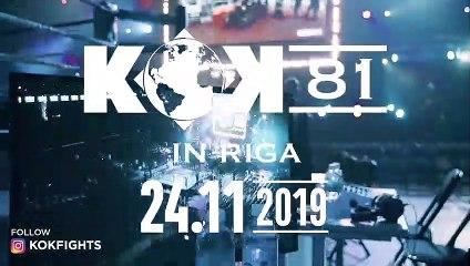 KOK FIGHT SERIES 22.02.2019  IN RIGA Press Conference ❗️