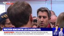 """""""Ce serait faux de dire que rien n'a été fait"""", Emmanuel Macron répond à François Ruffin sur le suivi de la reprise de Whirpool"""