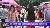 Mga lokal na palay, pinabibili ni Pangulong #Duterte