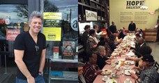 Jon Bon Jovi a ouvert deux restaurants qui servent des repas gratuits aux personnes les plus démunies et vivants dans la rue