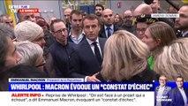 """Emmanuel Macron aux ex-salariés de Whirpool: """"Je ne vous oublie pas et je n'oublie pas mes engagements (...) on va tout faire pour les tenir"""""""