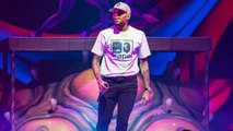 Chris Brown hints at birth of second child