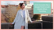 Erich Gonzales Has a Simple Trick to Look Stylish When Traveling