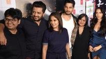 Sidharth Malhotra, Riteish Deshmukh With Genelia, Milap Zaveri & others at the success bash of film 'Marjaavaan'